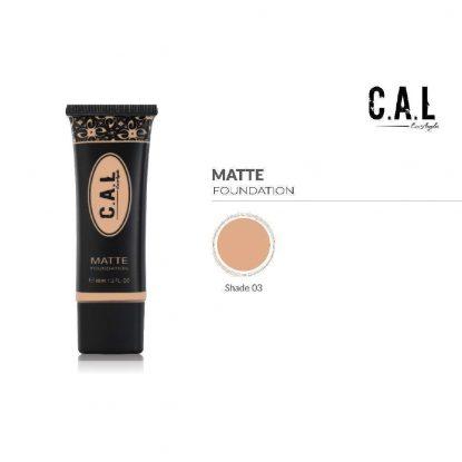 CAL Skin colour Matte Foundation